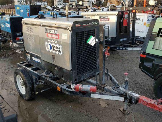 2017 Lincoln Electric VANTAGE 500 Welder