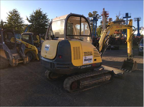 2015 Wacker Neuson 3503 Mini-Excavator