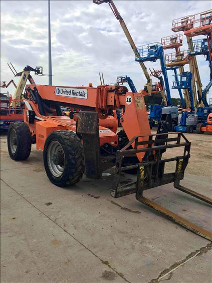2013 SKYTRAK 10054 Rough Terrain Forklift