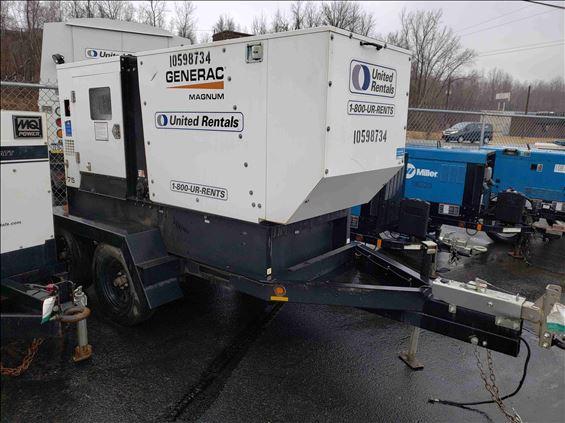 2017 Magnum Pro MMG75D Diesel Generator