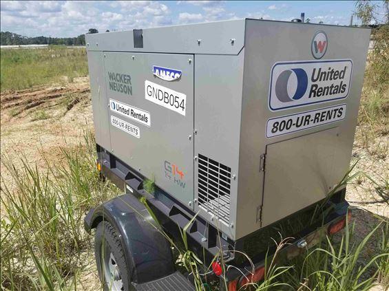 2018 Wacker G14 Portable Generator