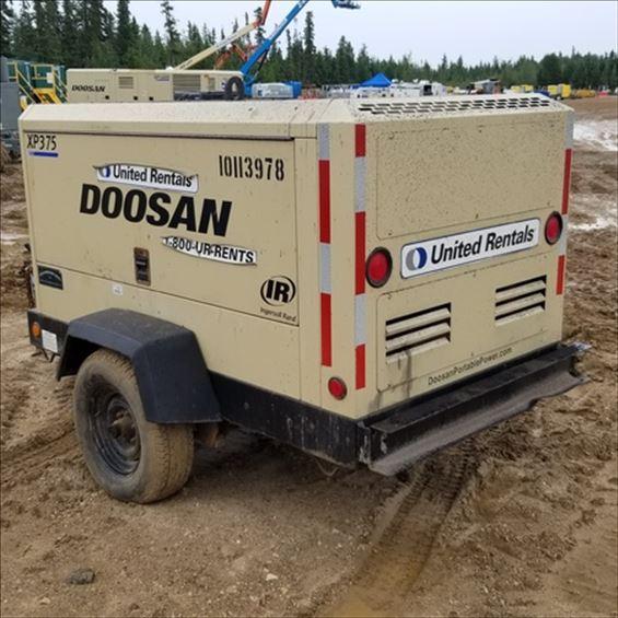 2013 Doosan XP375WJD-FX-T3 Air Compressor