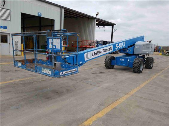 2012 Genie S-80X Boom Lift