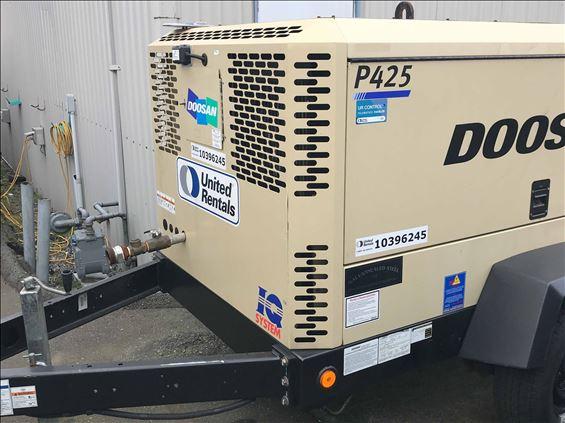 2015 Doosan P425WJD-FX-T3 Air Compressor