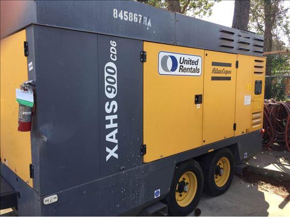 2011 Atlas Copco XAHS900CD6 Air Compressor