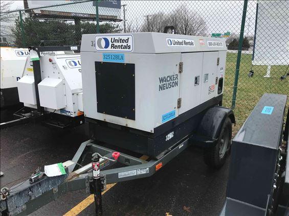 2016 Wacker Neuson G 25 Diesel Generator