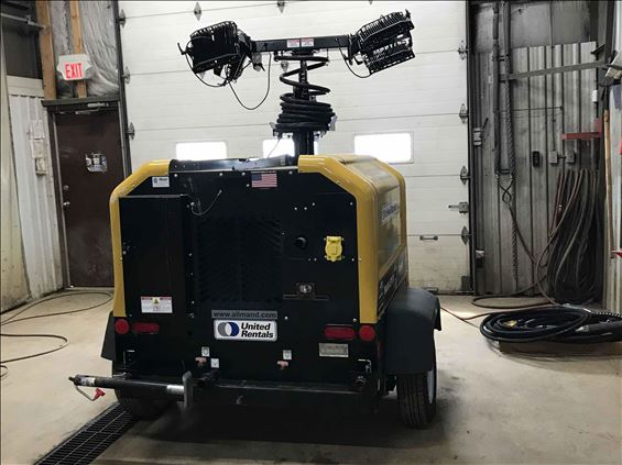 2018 Allmand MLV4-I4LE1 Towable Light Tower