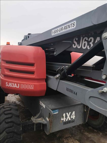 2013 Skyjack SJ63AJ Boom Lift