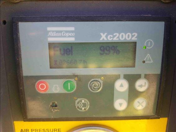 2013 Atlas Copco XATS400JD Air Compressor
