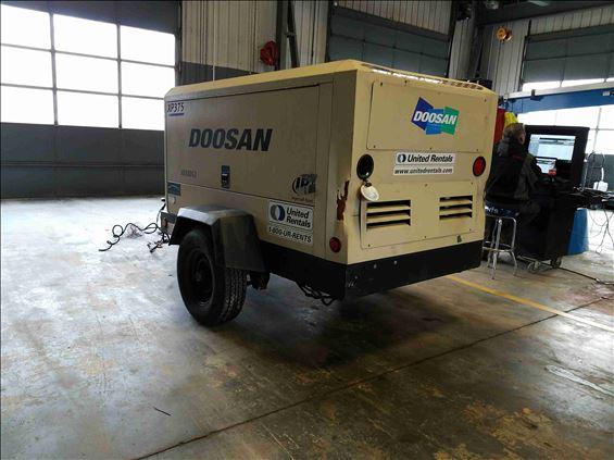 2013 Doosan XP375WCU-FX-T3 Air Compressor