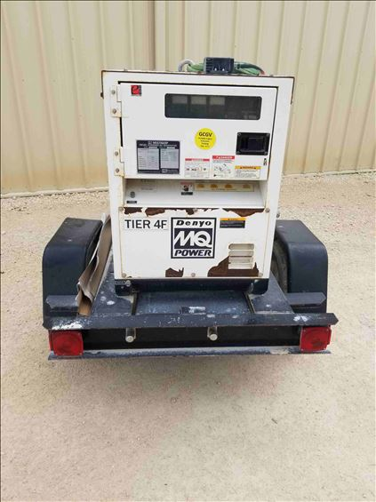 2016 Multiquip DCA-10SPXU4 Portable Generator