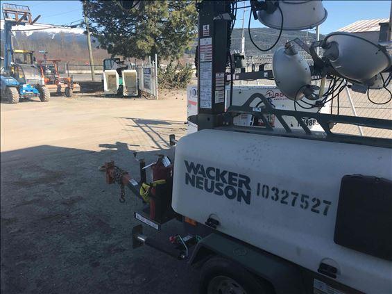 2014 Wacker Neuson LTN8K Towable Light Tower