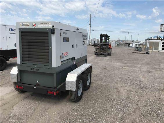 2013 Wacker Neuson G 120 Diesel Generator