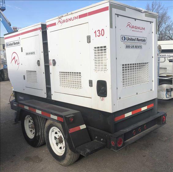 2012 Magnum Pro MMG130 Diesel Generator