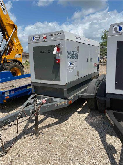 2015 Wacker Neuson G50 T4F Diesel Generator