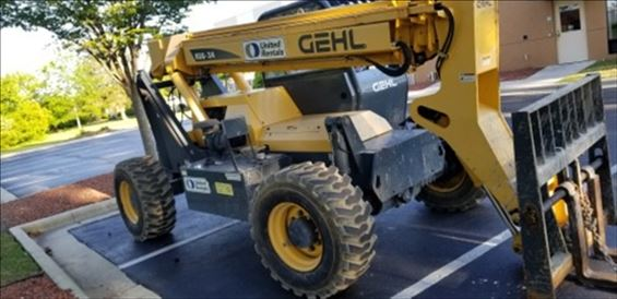 2014 Gehl RS6-34 Rough Terrain Forklift