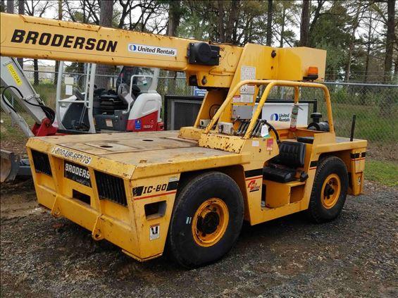 2005 Broderson IC-80-3G Crane