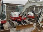 2015 Takeuchi TB260C Mini-Excavator