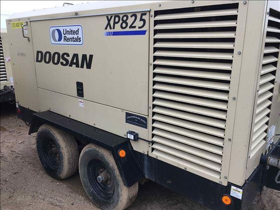 2013 Doosan XP825WCU Air Compressor