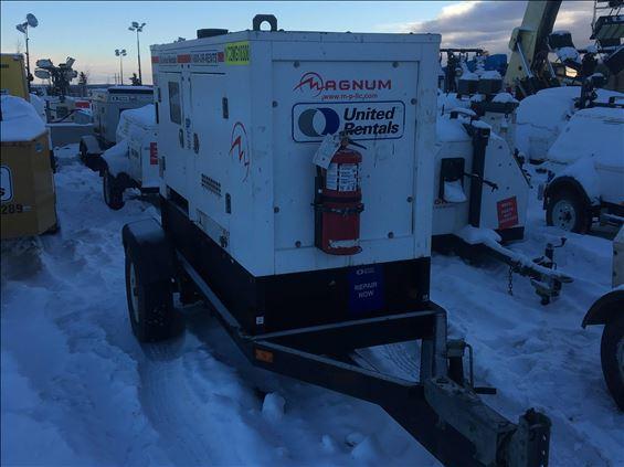 2013 Magnum Pro MMG100/0123 Diesel Generator