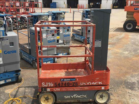 2012 Skyjack SJ16 Scissor Lift