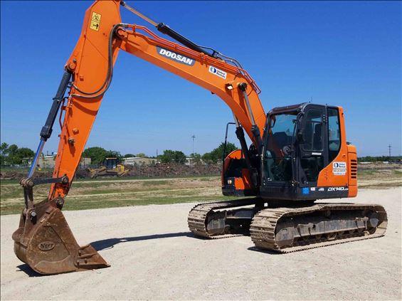 2016 Doosan DX140LCR-5 Excavator