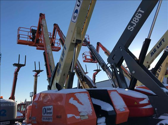 2013 JLG 600S Boom Lift