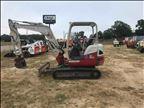 2015 Takeuchi TB240 Mini-Excavator