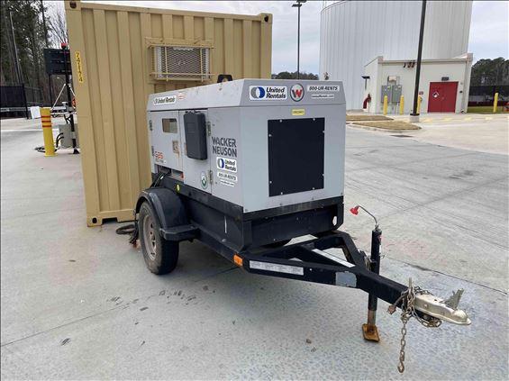 2019 Wacker Neuson G25 T4F Diesel Generator