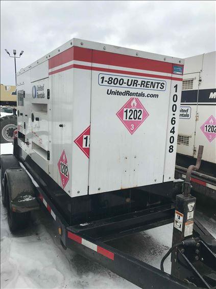 2014 Cummins C100D6R Diesel Generator