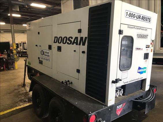2012 Doosan G240 Diesel Generator