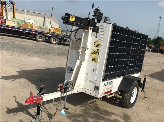 2012 Progress Solar Solutions SLT800 Towable Light Tower