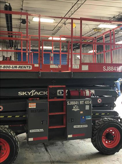 2015 Skyjack SJ8841RT Scissor Lift