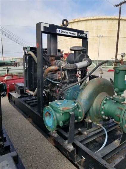 2012 BakerCorp BP128HS-CD300PS Pump