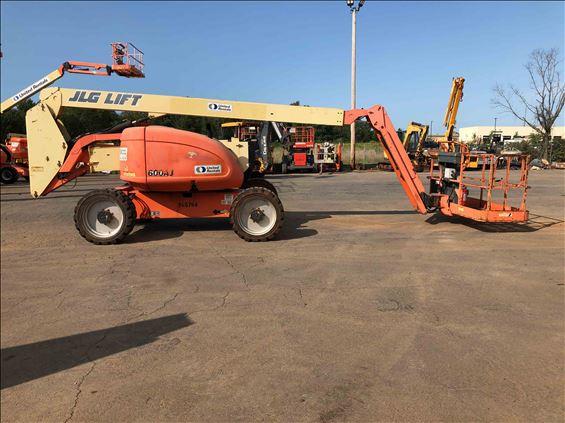 2010 JLG 600AJ Boom Lift