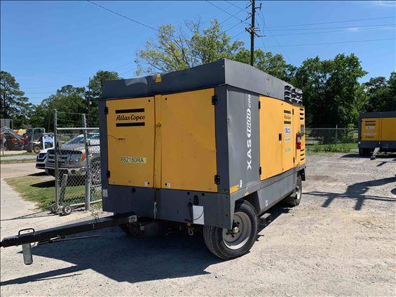 2011 Atlas Copco XAS1600CD6 Air Compressor