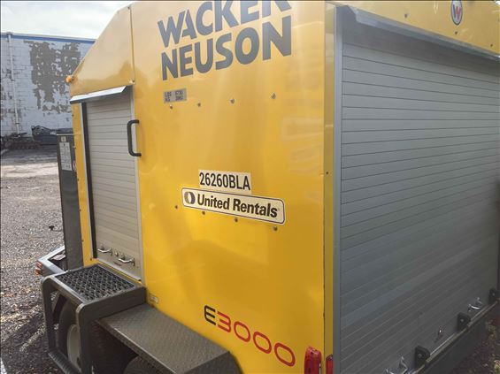 2015 Wacker E3000 Ground Heater