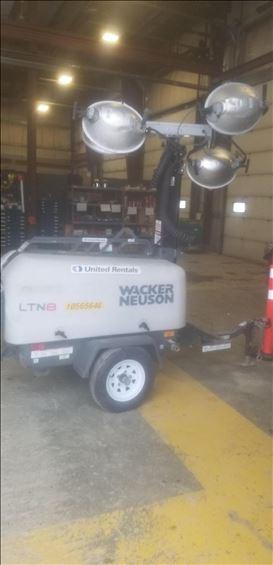 2017 Wacker Neuson LTN8K-V Towable Light Tower