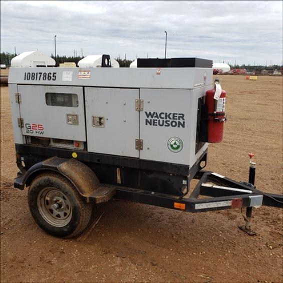 2018 Wacker Neuson G25-T4I Diesel Generator