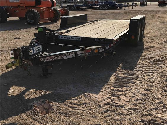 2015 Towmaster T-12DT 16' Trailer