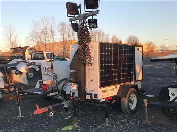 2015 Progress Solar Solutions URSLTHP1000N12 Towable Light Tower