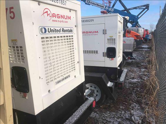 2014 Magnum Pro MMG75 Diesel Generator