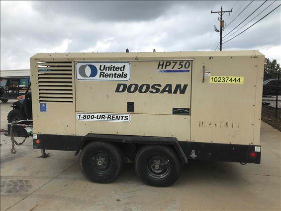 2014 Doosan HP750WCU-T4I Air Compressor