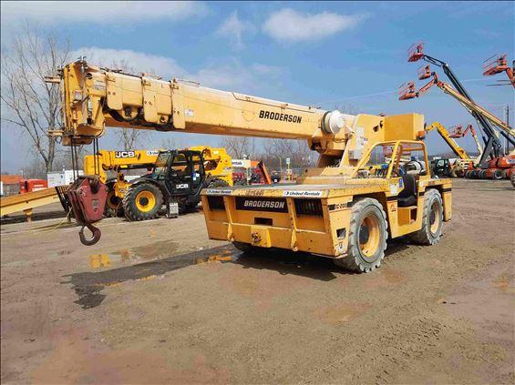 2008 Broderson IC-200-3G Crane