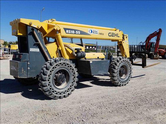 2014 Gehl RS10-55 Rough Terrain Forklift