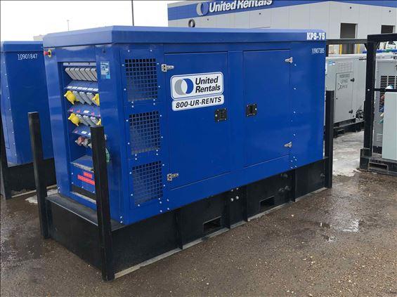2018 Kustom Power Solutions KPS75 Diesel Generator