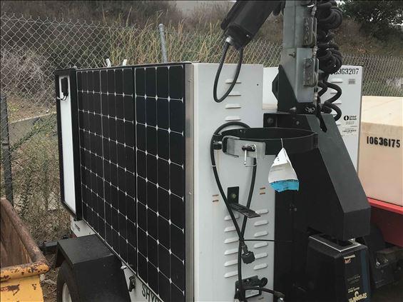 2015 Progress Solar Solutions SHYB1000 Towable Light Tower