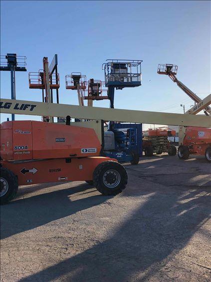 2012 JLG 800A-D-WR Boom Lift