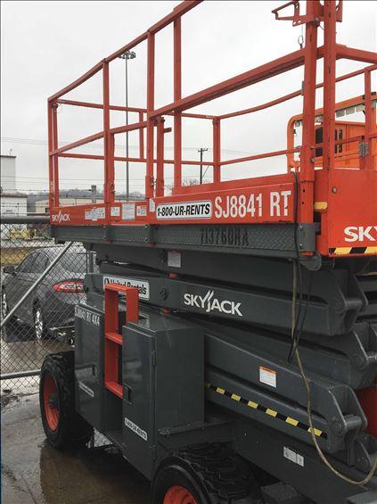 2007 Skyjack SJ8841RT Scissor Lift