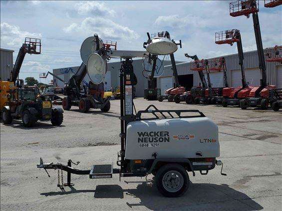 2016 Wacker Neuson LTN6K-VS Towable Light Tower